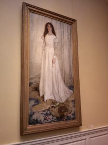 The Lady in White by Whistler